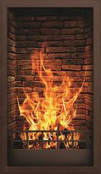 """Електричний настінний обігрівач-картина """"Вогнище"""""""