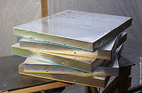 Листовой алюминий 560х860 на 10 рамочный