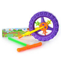 Игрушка-каталка «Чудо-колесо» на палке 3621 Metr+