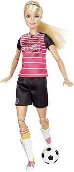 Лялька Барбі з серії Безмежні руху Футболістка (Barbie Made to Move The Ultimate Posable Soccer Player