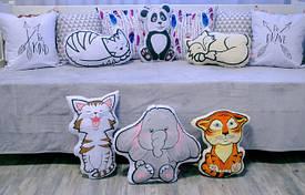 Декоративные коврики и подушки