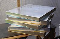 Листовой алюминий 630х860 на 12 рамочный