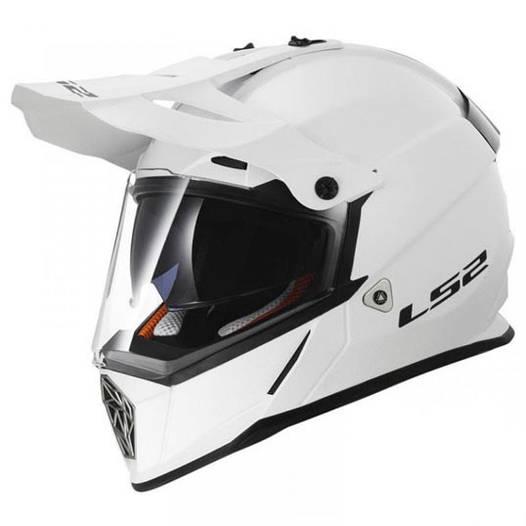 Мотошлем LS2 MX436 PIONEER белый