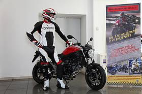 Комплект мотоэкипировки для спортбайка Alpinestars и шлем Shoei Gt-Air 7
