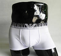 Мужские трусы боксеры Emporio Armani, белые