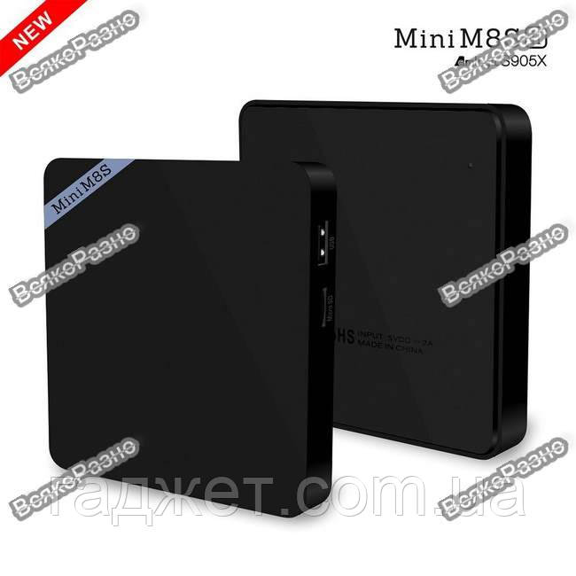 Mini M8S II Тв приставка 4K 4 ядра Amlogic S905X