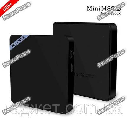 Mini M8S II Тв приставка 4K 4 ядра Amlogic S905X, фото 2