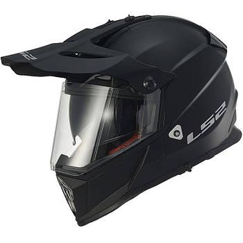 Мотошлем LS2 MX436 PIONEER black matt