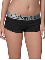 Женские трусики-шорты Calvin Klein steel, черные