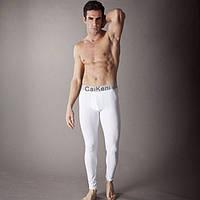 Термобелье подштанники Calvin Klein steel, белые
