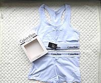 Спортивный комплект Calvin Klein шорты, белый