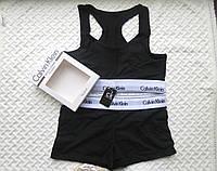 Спортивный комплект Calvin Klein шорты, черный