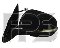 Зеркало левое электро с обогревом складывающееся грунт 9pin с указателем поворота без подсветки ASX 2013-