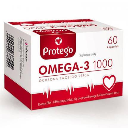 Omega-3 1000 Protego (Salvum) 60 caps, фото 2