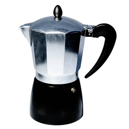 Кофеварка гейзерная Con Brio CB-6309 (9 чаш,450мл), фото 2
