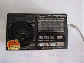 Радиоприемник Golon RX-2277 с фонарем, MP3 плеер, FM радио
