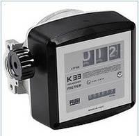 K33 (Piusi) - механический счетчик учета дизтоплива, 20-120 л/мин