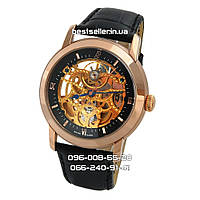Часы Audemars Piguet Skeleton black/gold/black . Класс: ААА.