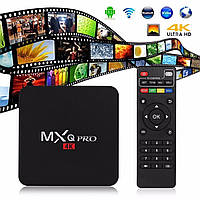 Тюнер TV Box MXQ pro (Amlodgic S905,16 RAM,8GB), тв приставка android mxq pro tv box