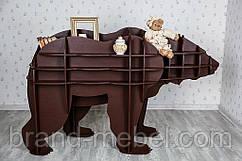 Декоративная полка Бурый Медведь