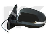 Зеркало левое электро с обогревом грунт 7pin с указателем поворота без подсветки ASX 2010-13