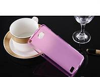 Чехол для телефона Original Silicon Case LG Max X155 Pink