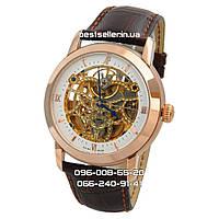 Часы Audemars Piguet Skeleton black/gold/white . Класс: ААА.
