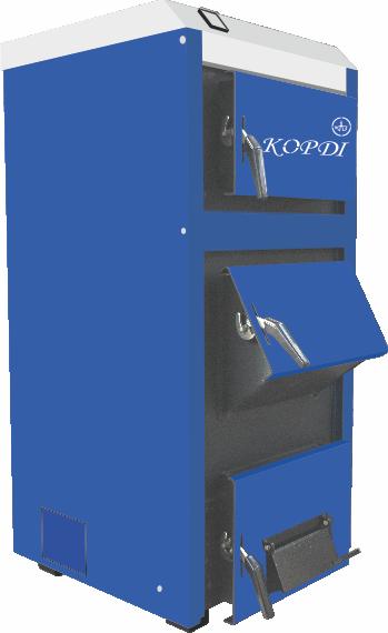 Твердотопливные котлы Корди АОТВ С, Стандарт (сталь 4 мм)