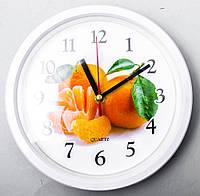 "Часы настенные для кухни ""Мандарин"""