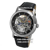 Часы Audemars Piguet Skeleton black/silver/black . Класс: ААА.
