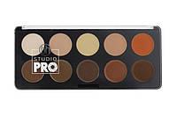 Профессиональная палитра кремовых контуров 10 цветов BH Cosmetics. Оригинал