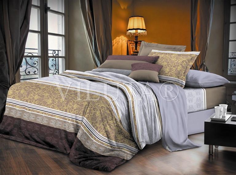 Постельное белье Вилюта сатин двухспальный 602