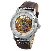 Часы Audemars Piguet Skeleton black/silver/white . Класс: ААА.