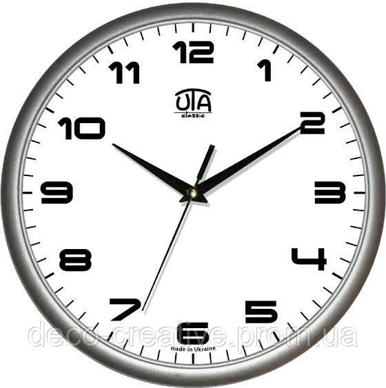 """Годинник настінний ЮТА """"Классика"""" 300Х300Х45мм            01 S 38"""