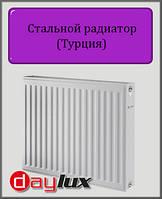Стальной радиатор Daylux 500х500 22 типа боковое подключение