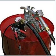 Узел для заправки и перекачки дизельного топлива из бочки Drum Tech 12В, 40 л/мин