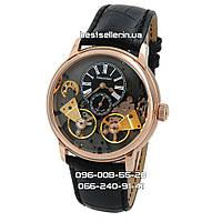 Часы Audemars Piguet Jules Audemars Escapement black/gold/black. Класс: ААА.