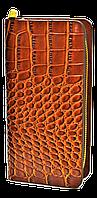 Мужской клатч-барсетка коричневого цвета JJK-987354