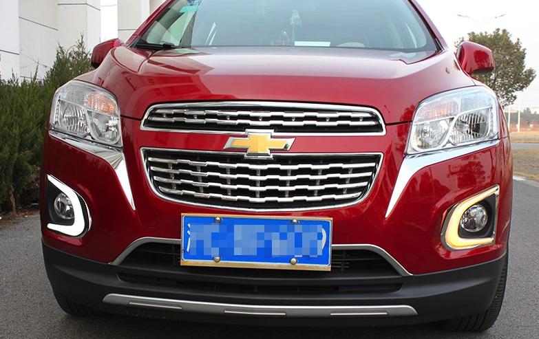Ходовые огни Chevrolet Tracker 2013+V2