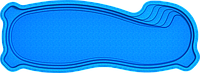 Бассейн Монако Стандарт 10,00х3,6х1,25-1,9 м