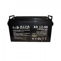 Акумуляторна батарея ALVA AD12-60, фото 1