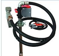 Бочковой насос для заправки и перекачки дизельного топлива PTP 24В, 40 л/мин