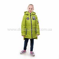 """Детская  куртка демисезонная для девочки """"Филиция"""" с капюшоном,новинка 2017года, фото 1"""