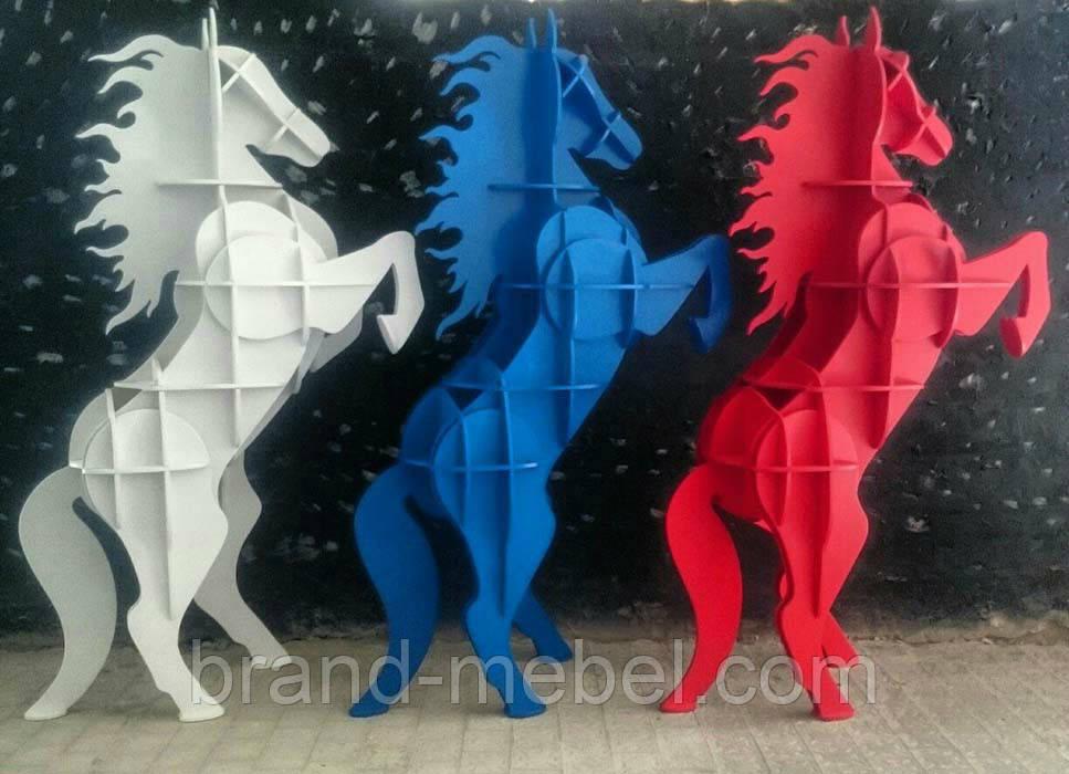 Декоративная полка Конь