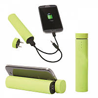 Колонка 3 in 1 Power Bank, POWER JAM, 4000mAh, green, фото 1