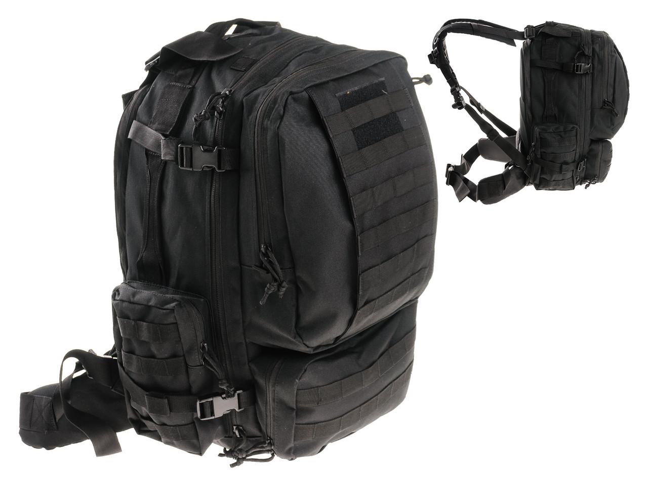 Тактический рюкзак VOODOO TACTICAL TOBAGO 80L Черный