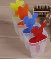 Формочки для морозива Міккі Маус (4 форми) / Формочки для мороженого Микки Маус (4 формы), фото 1