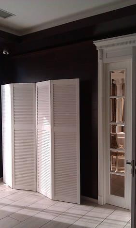 Ширма, ширма-жалюзи, белая для студий, фото 2