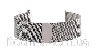 Ремешок для Apple Watch 38mm Silver Milanese Loop