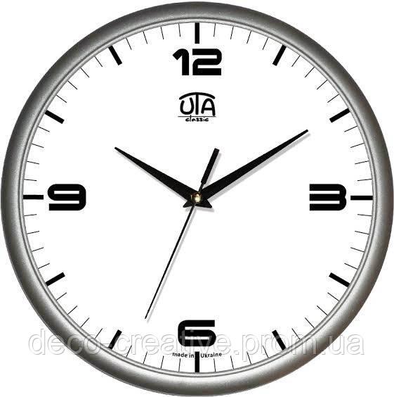 """Годинник настінний ЮТА """"Классика"""" 300Х300Х45мм            01 S 40"""